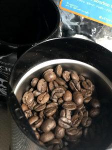 珈琲豆とミル